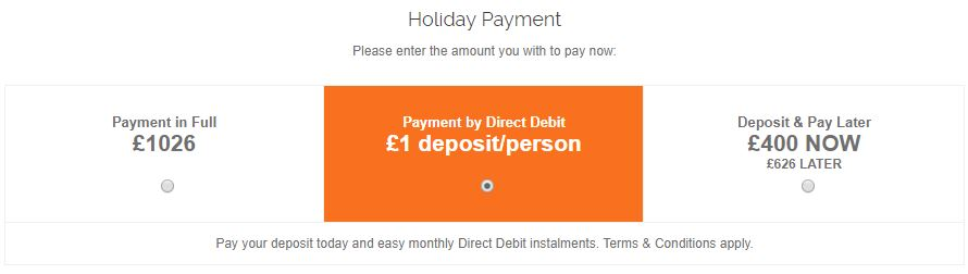 Select Direct Debit